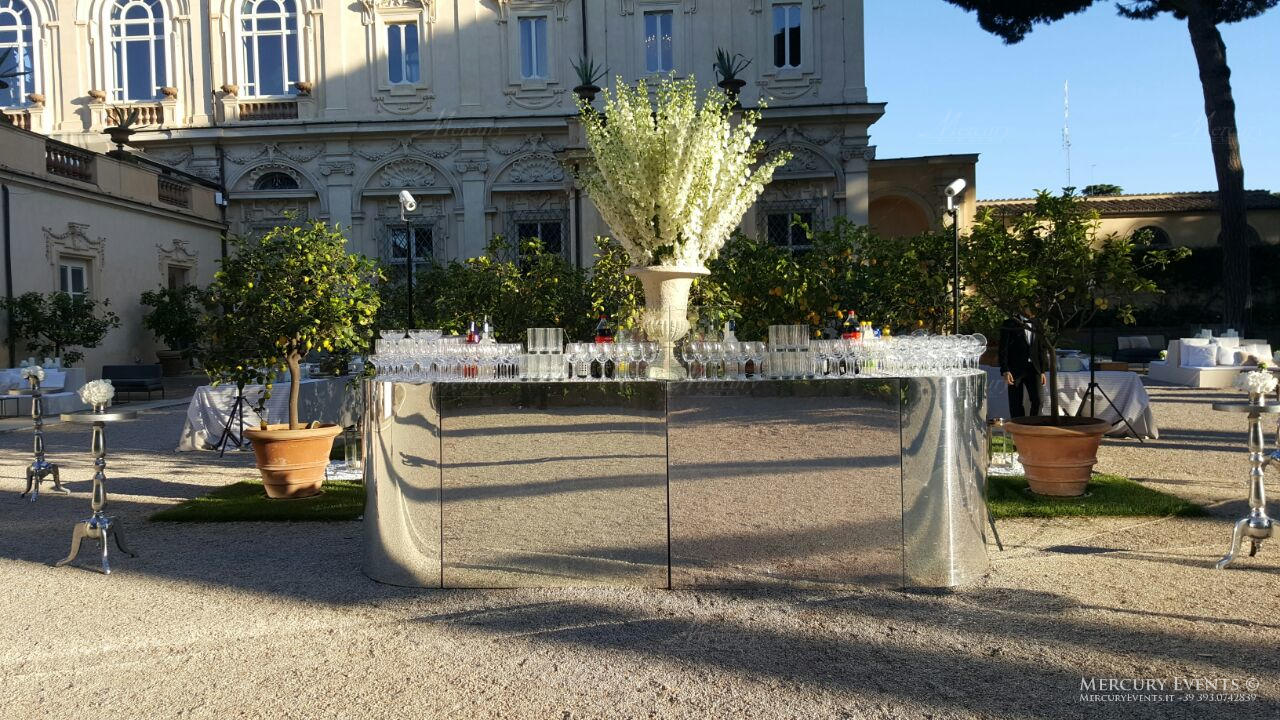 Open Bar Events - Luxury Wedding - Villa Aurelia - Roma