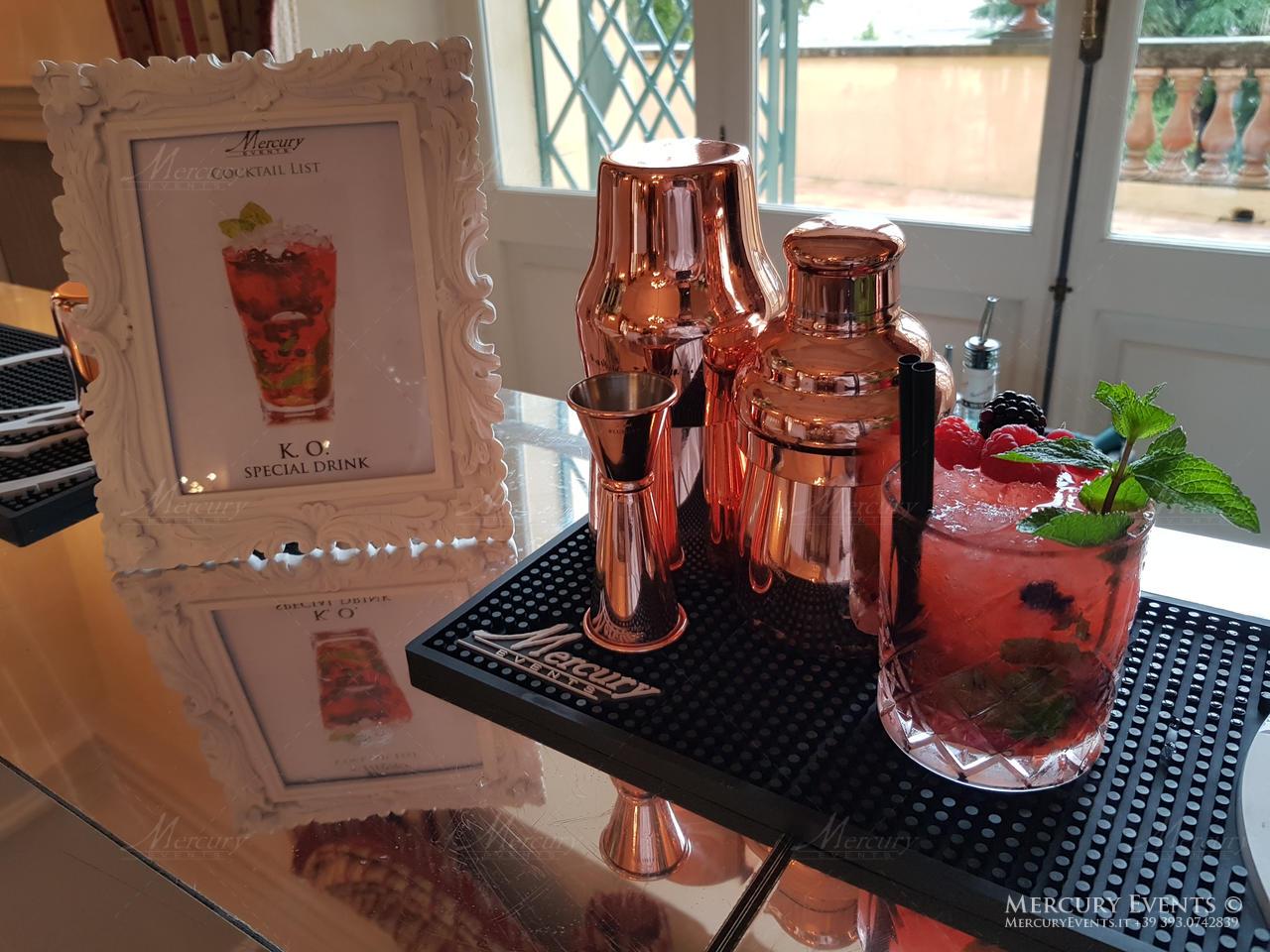 Luxury Wedding - Villa Aurelia - Bar Catering