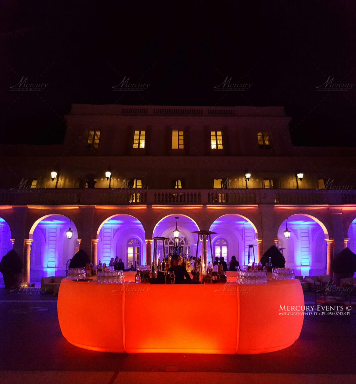Russian Wedding - Villa Miani - Roma - Mercury Events