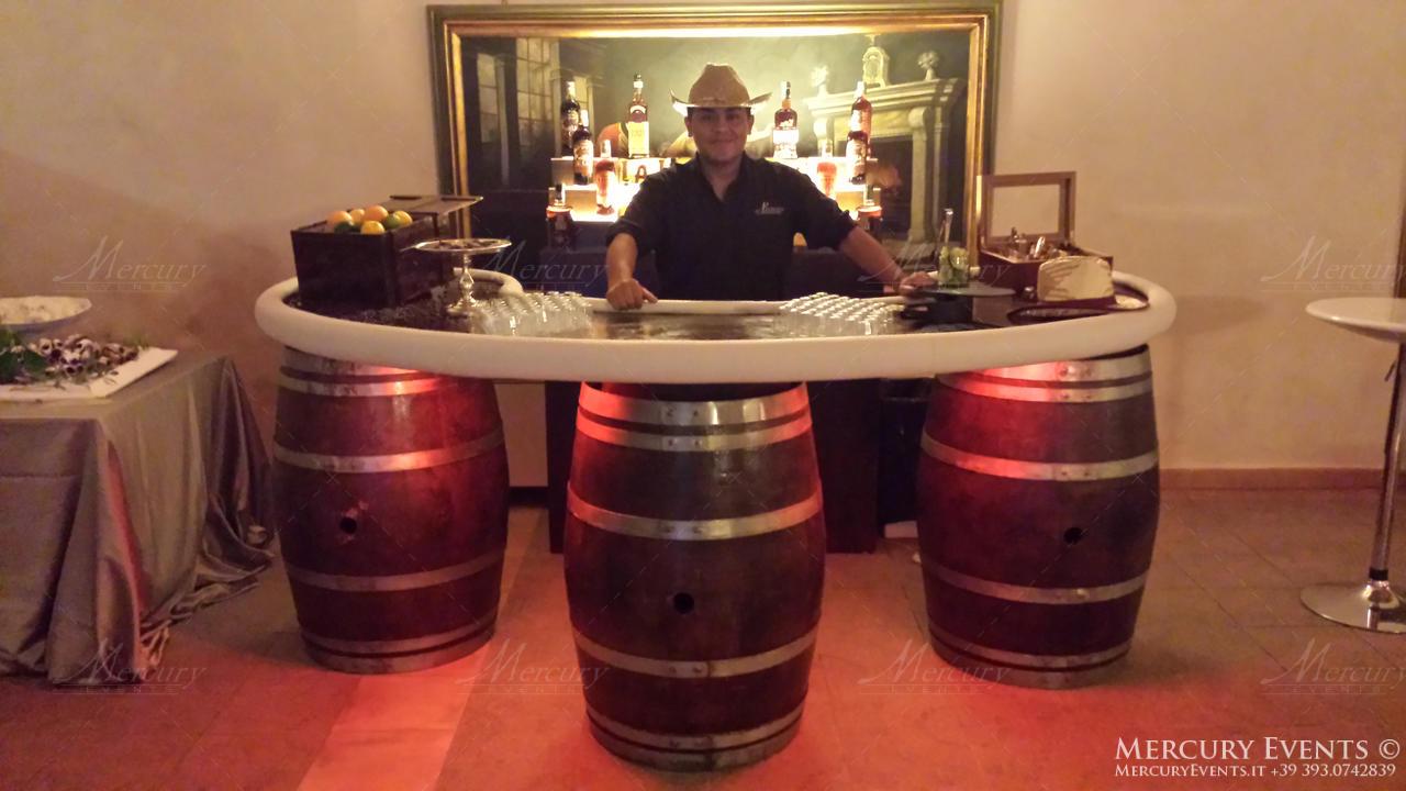 antiche scuderie odescalchi bracciano bar counter bartender