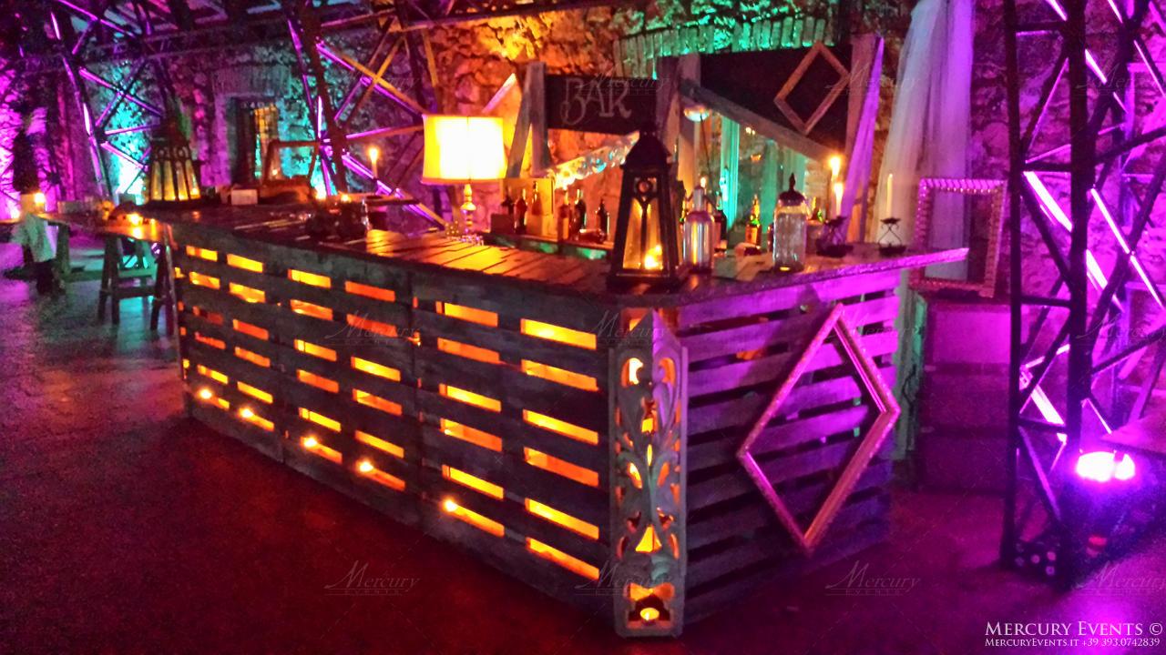 open bar casale torre santa anastasia roma bar counter mercury events