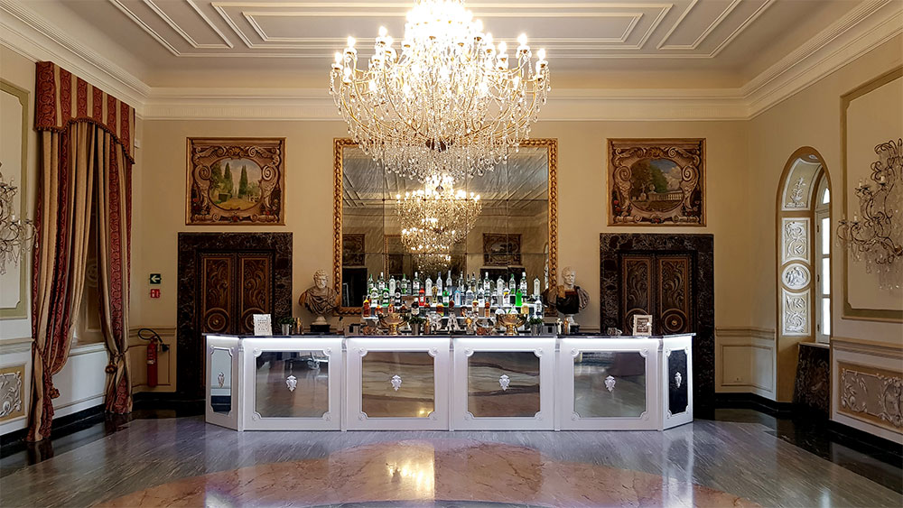 Corporate Party – Villa Miani – Roma - Cherie Bar Design