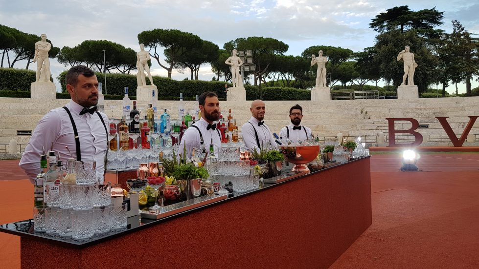 evento openbar foro italico Mercury Events