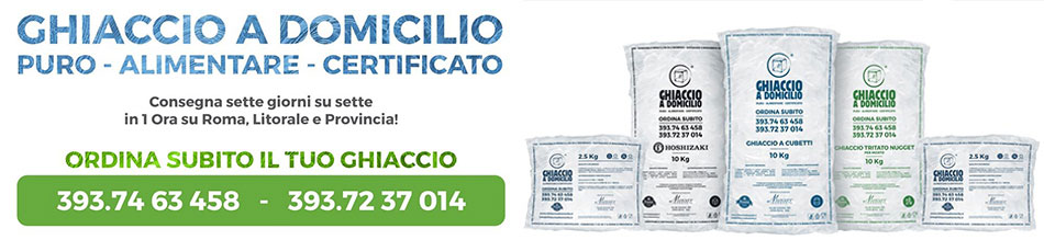 ghiaccio alimentare roma certificato