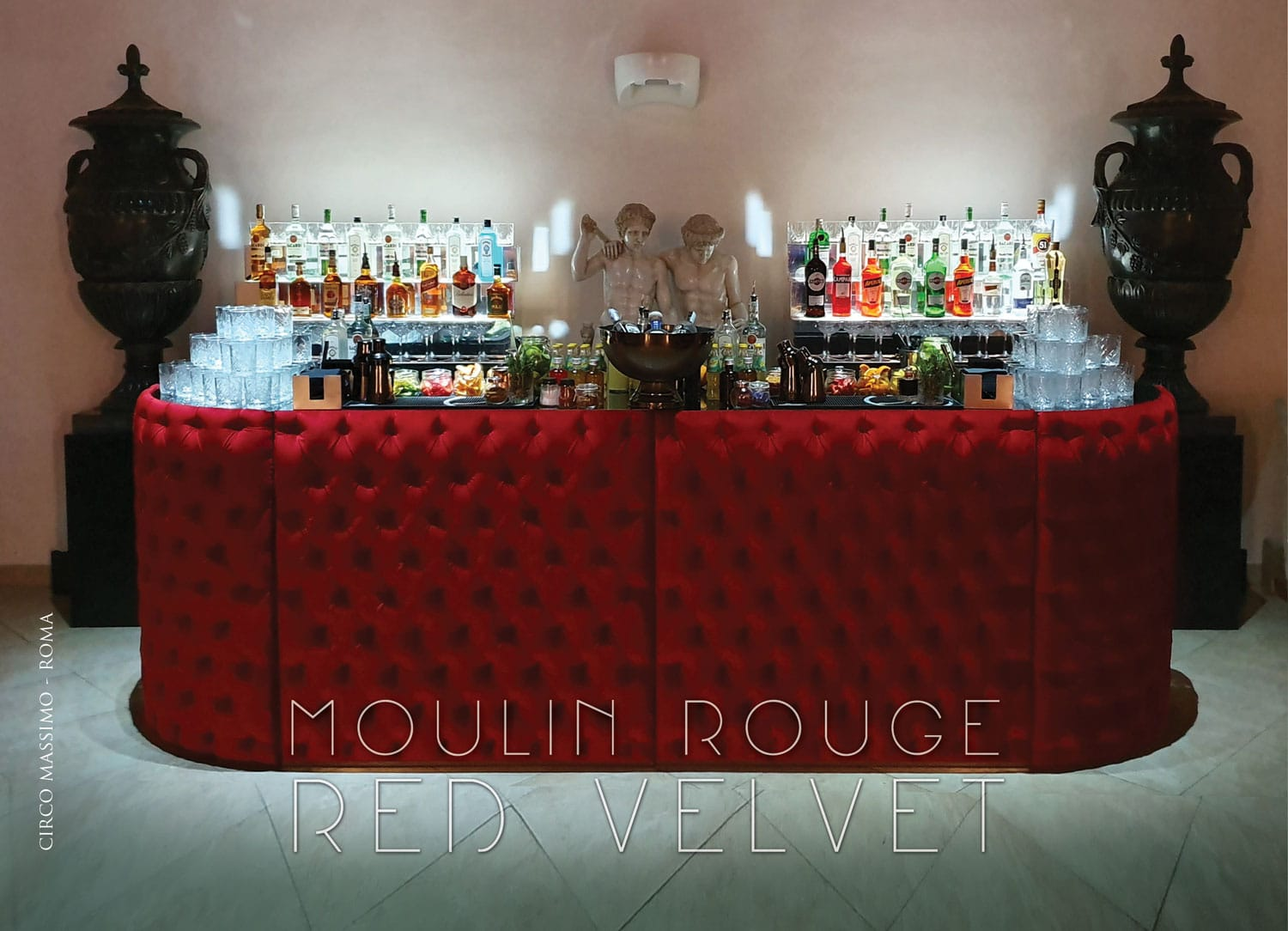 moulin rouge red velvet bar